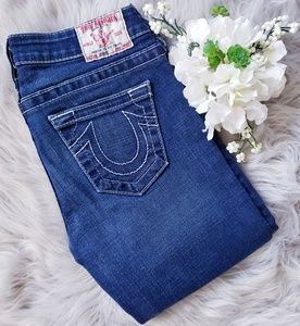 True Religion Johnny Straight Leg Denim Jeans